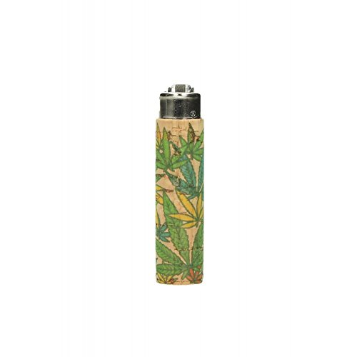 Clipper Micro Cork Cover Leafs # 9 – 1 LIGHTER CASE VARIOUS DESIGNS