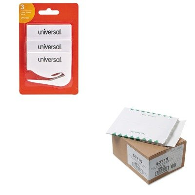 KITQUAS3715UNV31803 - Value Kit - Quality Park Ship-Lite Redi-Flap Expansion Mailer (QUAS3715) and Universal Letter Slitter Hand Letter Opener w/Concealed Blade (UNV31803) by Quality Park