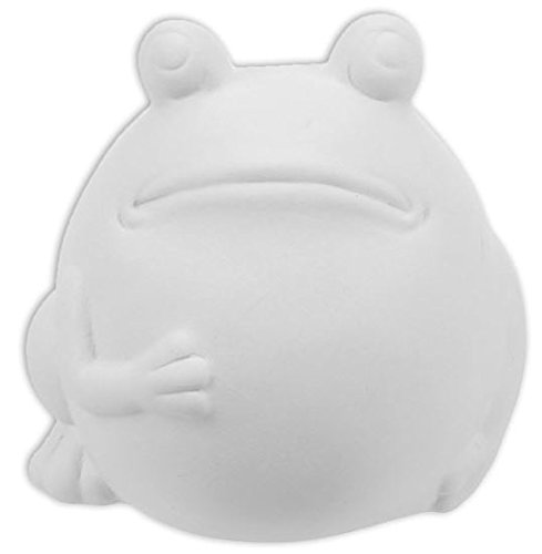 New Hampshire Craftworks Jeremiah The Bullfrog - Paint Your Own Kawaii Ceramic Keepsake made in New England