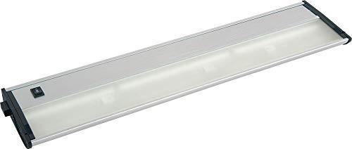 Maxim Lighting 87462AL Three Light Under Cabinet Strip, Brushed Aluminum ()