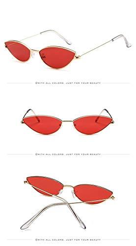 Vintage Gafas Espejo Polarizadas Cat Sol Gafas Súper Gafas de para Lente Mujer Hombre Gafas Sol Ligero Estuche de de A Sol Retro UV400 Unisex Eye Fliegend Azul P8xqw6