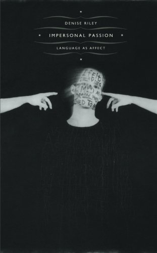 Impersonal Passion: Language as Affect by Brand: Duke University Press Books
