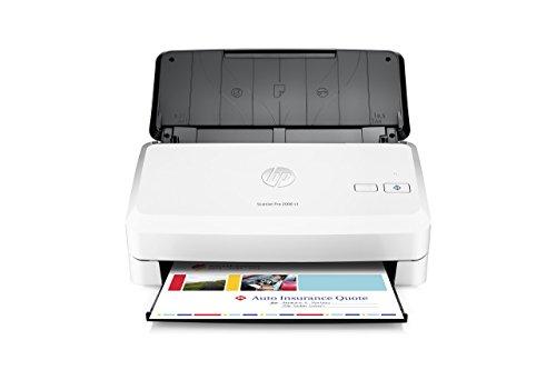 HP ScanJet Pro 2000 s1 Sheet-Feed OCR Scanner (Certified Refurbished) (2000 Hewlett Packard Hp Sheet)