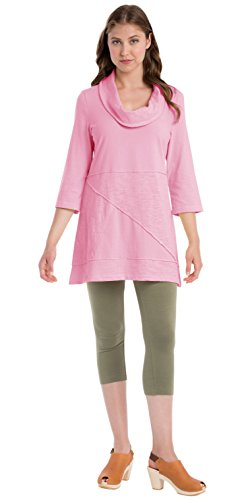 Neon Buddha Women's Neighborhood Tunic, Pacific Pink, X-Large