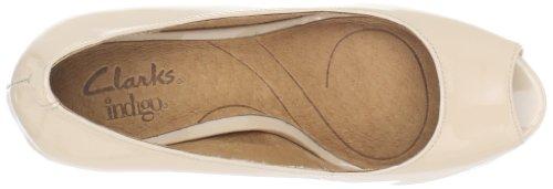 indigo by Clarks Wessex Eider - Zapatos de vestir de cuero para mujer Beige beige