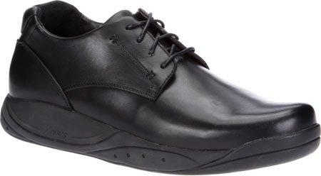 Xelero Milan Men's Comfort Therapeutic Extra Depth Casual Shoe Leather Lace-up 8.0 Medium (D) Black Lace US Men|Black