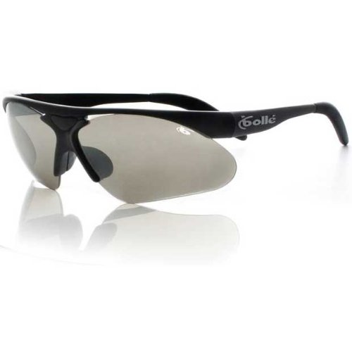 Bolle Performance Parole Sunglasses (Matte Black/A-SES Lens Set (TNS Gun, Vermillon, Dark Cinnamon, - Rx Bolle Sunglasses