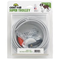 Cider Mill Dog Tieout Trolley