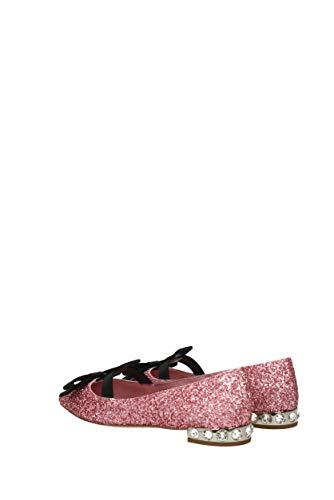 Eu 5f538bglitterraso Glitter Rosa Miu Bailarinas Mujer wEqxtTI