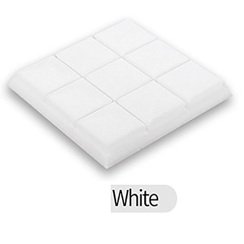Sound Foam Panels,vmree 25x25x5cm Acoustic Studio KTV cancelling Foam Panel soundproof Absorption Sponge (White)