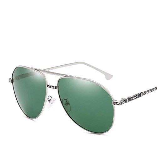 polarización sol espejo metal de Aoligei Pesca conductor libre hombre aire gafas conduce mans marea pata tallado al deportes Viento C de wzOtxqOS4
