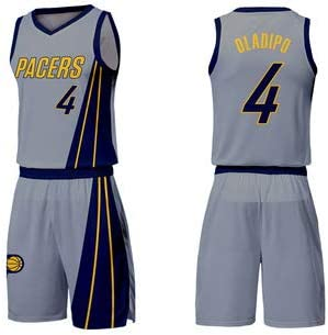 save off 52820 7e6b1 Victor Oladipo 4 INDIANA PACERS City Edition Basketball ...
