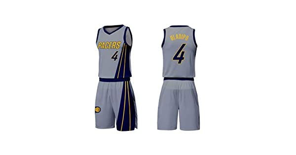 save off e46f6 89c46 Victor Oladipo 4 INDIANA PACERS City Edition Basketball ...