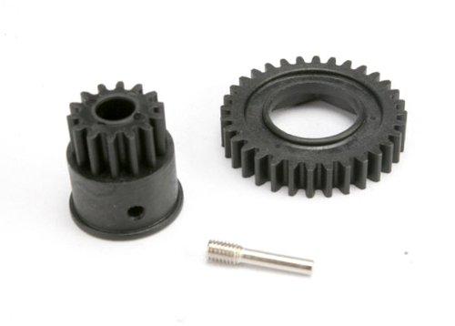 (Traxxas 5586 Gear Set, 1st Gear 32-T, Input Gear 14-T)