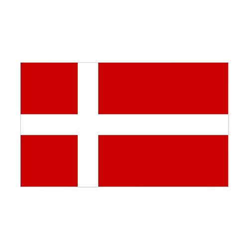 Sticker Bumper Heritage - CafePress Danish Flag Rectangle Sticker Rectangle Bumper Sticker Car Decal
