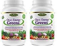 Paradise Herbs Orac Energy Powder, Greens, 364 Gram 2 Pack
