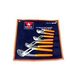 Neiko Tools USA 4 PC Groove Joint Plier Set by Neiko