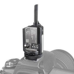 SMDV 16 Channel Flash Wave III Radio Trigger 2.4 GHz Kit (1x transmitter TX, 1x Receiver RX, 1x Promotional 6''x8'' Flash Softbox) - for Canon, Nikon, Pentax, Olympus, Nissin, Flash, and Studio Strobe