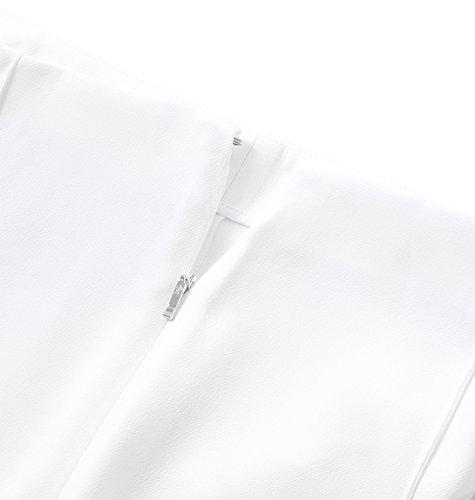 Fay Pantaloni Donna NTW8028488SHOFB009 Cotone Bianco