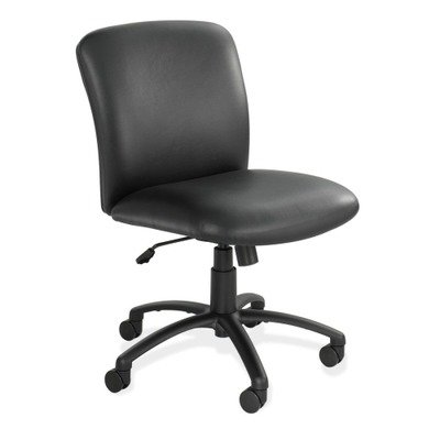 Safco 3491BV Mid-Back Chair 27inx30-1/4inx36-1/2in-40-1/2in