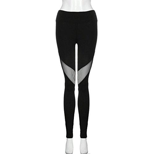 08e0edc5f7759 Palarn Ladies Stitching Long Paragraph Workout Yoga Bottoming Pants ...