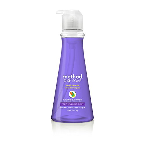 Method Dish Soap, French Lavender, 18 Ounces