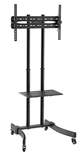 Nippon MFLRE3770S 37-70 in. TV Stand on Wheels with DVD Shelf