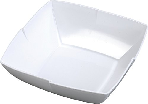 Carlisle 3331402 Rave Melamine Display Salad Bowl, 4.5 qt Capacity, 12