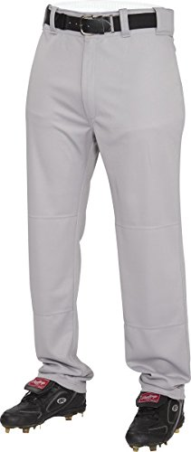 Rawlings  Youth Semi-Relaxed Pants, Medium, Blue/Grey