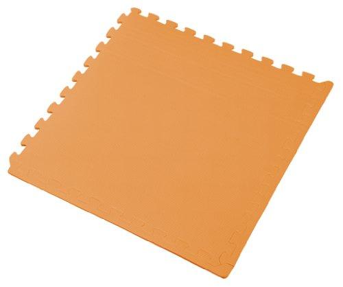 We Sell Mats ORANGE 24 SQFT (6 tiles + borders) 2' x 2' x 3/8