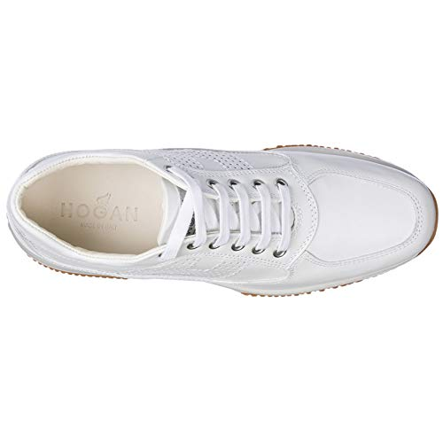 Pelle in Hogan Donna Bianco Sneakers Interactive Scarpe Nuove aIIxOqS