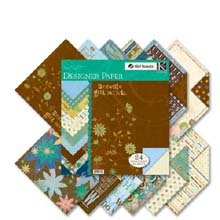 Girl Scouts Two-Sided Paper Pad 12 Inch X12 Inch -Brownies