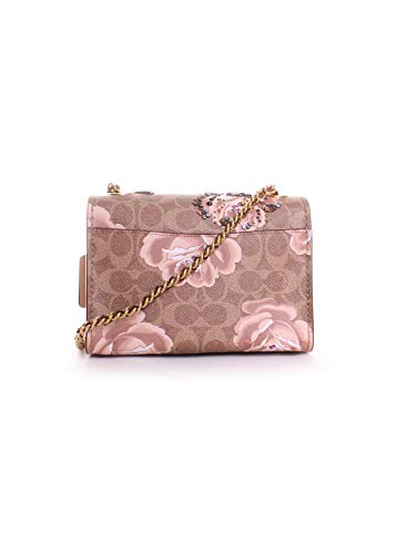 Parker 18 Crossbody Coach Rose Bag Print Signature vdxfBwHUq