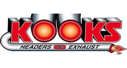 Kooks 31224210 3 OEM Style Cat-Back Exhaust for 4 Black Slash Cut Tips