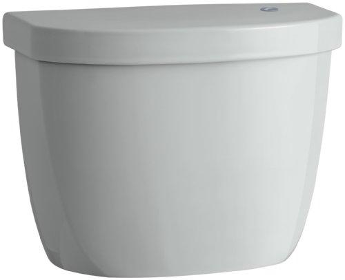 (KOHLER K-5693-95 Cimarron Tank for K-6419 Round-Front Touchless Toilet, Biscuit)
