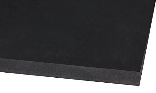 Kuriyama SK80-16X4X50 60 Durometer Skirtboard Rubber, 1100 PSI, Black