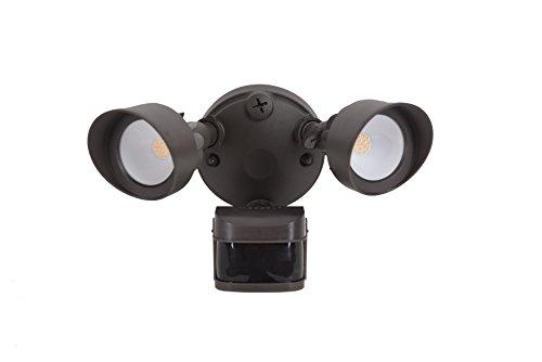 Sunjoy 1 Piece 11.3 L x 9.2 H x 6.9 W Head Aluminum Motion Sensor Light