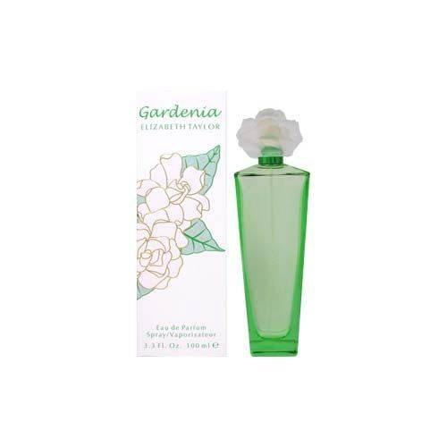 Gardenia by Elizabeth Taylor | Eau de Parfum Spray | Fragrance for Women | Floral, Green, and Musky Scent | 100 mL / 3.3 fl oz