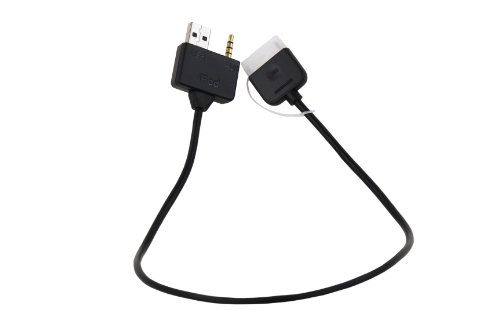 Kia Genuine Accessories P8620-00000 iPod Adapter Cable for Select Models (Kia Cable Ipod For Adapter)