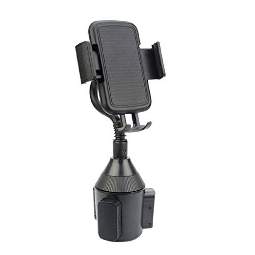 Car Mount , LtrottedJ Adjustable Gooseneck Universal Cup Holder Cradle Car Mount for Cell Phone ()