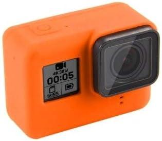 حقائب كاميرا رياضية - غطاء حماية للعدسات عالية الجودة غطاء واقي للجسم لجهاز Go pro Hero 5 6 Hero5 Hero5 Hero6 Black Camera Housing Fram (لون أبيض)
