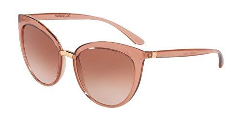 (Dolce & Gabbana Women's DG6113 Transparent Pink/Pink Gradient One Size)