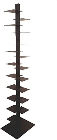 Librería vertical a columna Tower H200 óxido 19 Estante porta ...