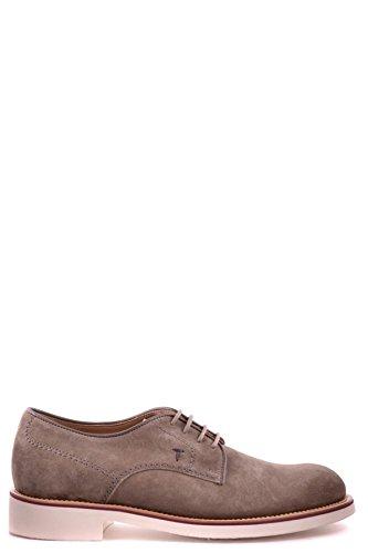 Tods Zapatos de Cordones Para Hombre Marrón Marrón It - Marke Größe