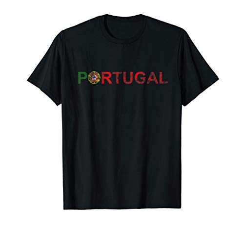 Portugal Flag T-shirt - Portugal T Shirt Portuguese Flag Travel Vacation Europe