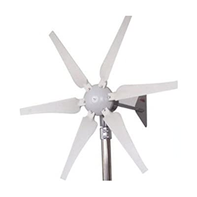 ALEKO WG400 400 Watt 24-Volt 6-Blade Wind Generator With Charge Controller