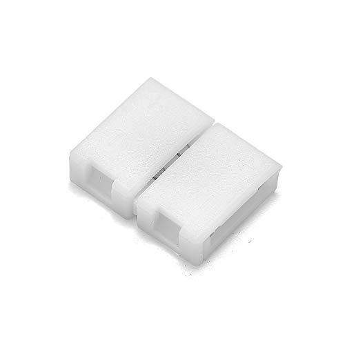 Gimax 1000pcs 2 Pin 4 Pin 5 Pin Connectors 8mm 10mm 12mm No Soldering For 3528 2835 5050 RGB RGBW RGBWW LED Strip Lights - (Color: 4 pin 10mm, Connector Type: Panel Connector) by GIMAX (Image #2)