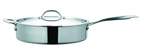 Cuisinox Super Elite Covered Saute Pan, 4.3-Liter, Silver by Cuisinox