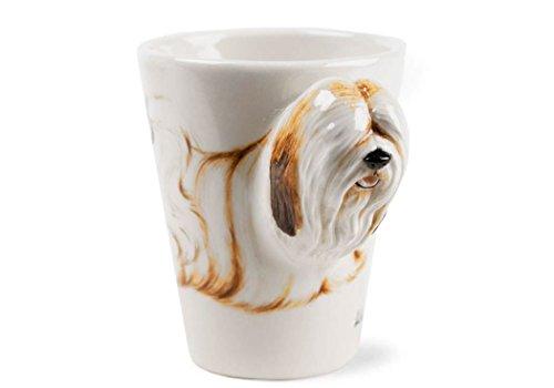 Lhasa Apso Gift, Coffee Mug Handmade by Blue Witch