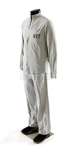 Original Movie Prop - Experiment, The - Travis' (Adrien Brody) Full Prisoner Costume - Original Movie Props And Costumes